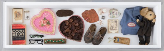 Luther Price, Objects from Luther's Life 1962-2015, dimensions variable