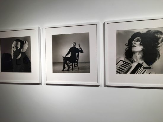 Installation view of Peter Hujar photographs in When Jackie Met Ethyl at Howl! Happening (photo by author)
