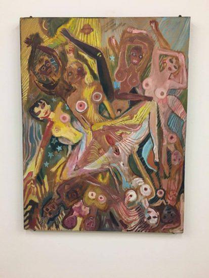Ellen Cantor, American Dream, ca. 1990, oil on wood
