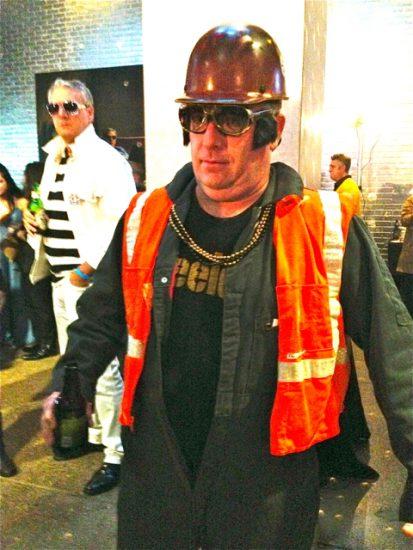 'Steel Worker' Elvis