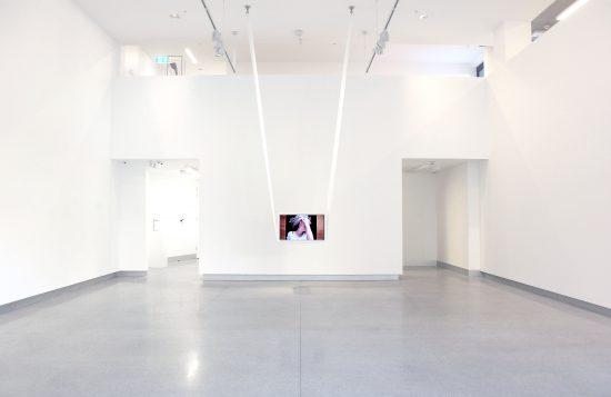 "Sophia Hewson, Untitled (""are you ok bob?""), 2016, Installation view (Courtesy the artist and Mars Gallery, Melbourne, Australia)"