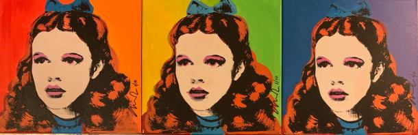 """Dorothy Gale of Kansas 100 Times, """"Somewhere Over the Rainbow"""""""
