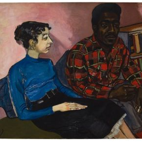 """Manspreading And Oppression Olympics: What Is Up With The Wall Labels In The Met's """"Alice Neel: People Come First""""?"""