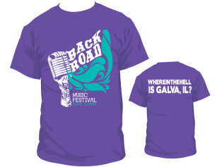 Music Festival T-Shirt Design