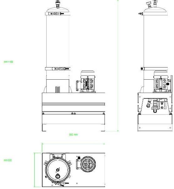 Układ ogólny- agregat AD1003-T-DX