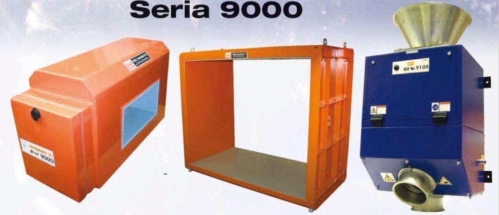 Wykrywacze i separatory metali- seria 9000