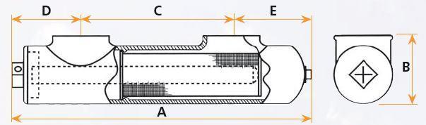 pułapki typu L i L-2-F- rysunek