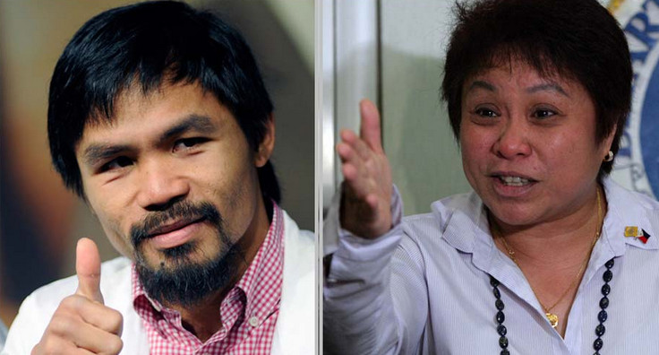 pacquiao and henares