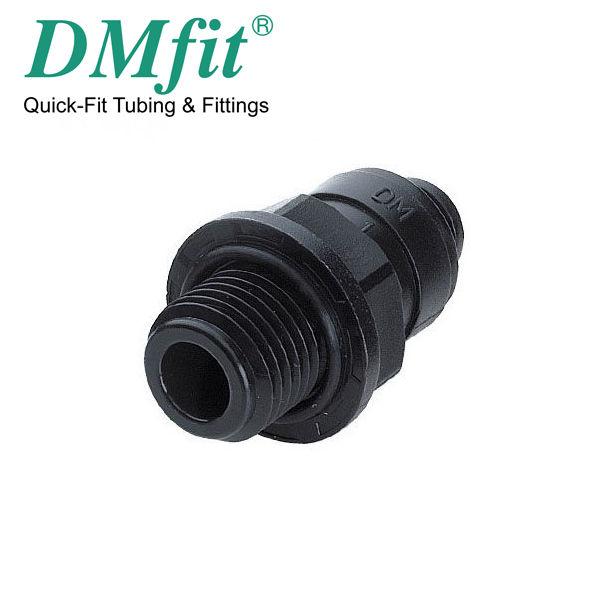 """TERMINALE DIRITTO TUBO 12 MM x 3/8"""" FILETTO  AMCB1206M"""