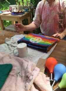 Regenbogen-Laptoptasche