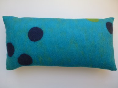 """Kissen """"turquoise dots collection"""""""