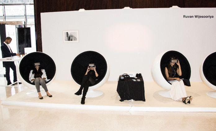 Ruvan Vijesooriya VR exhibition at The Scent