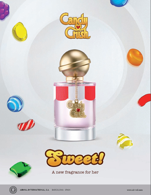 Candy Crush Sweet AirVal International perfume  a