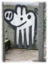 Graffiti - Peißnitzbrücke Halle (Saale)
