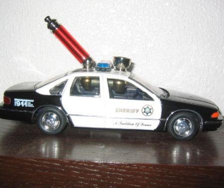 трубка - полицейская машина