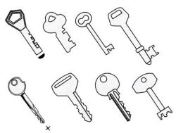 ключи с фотографии