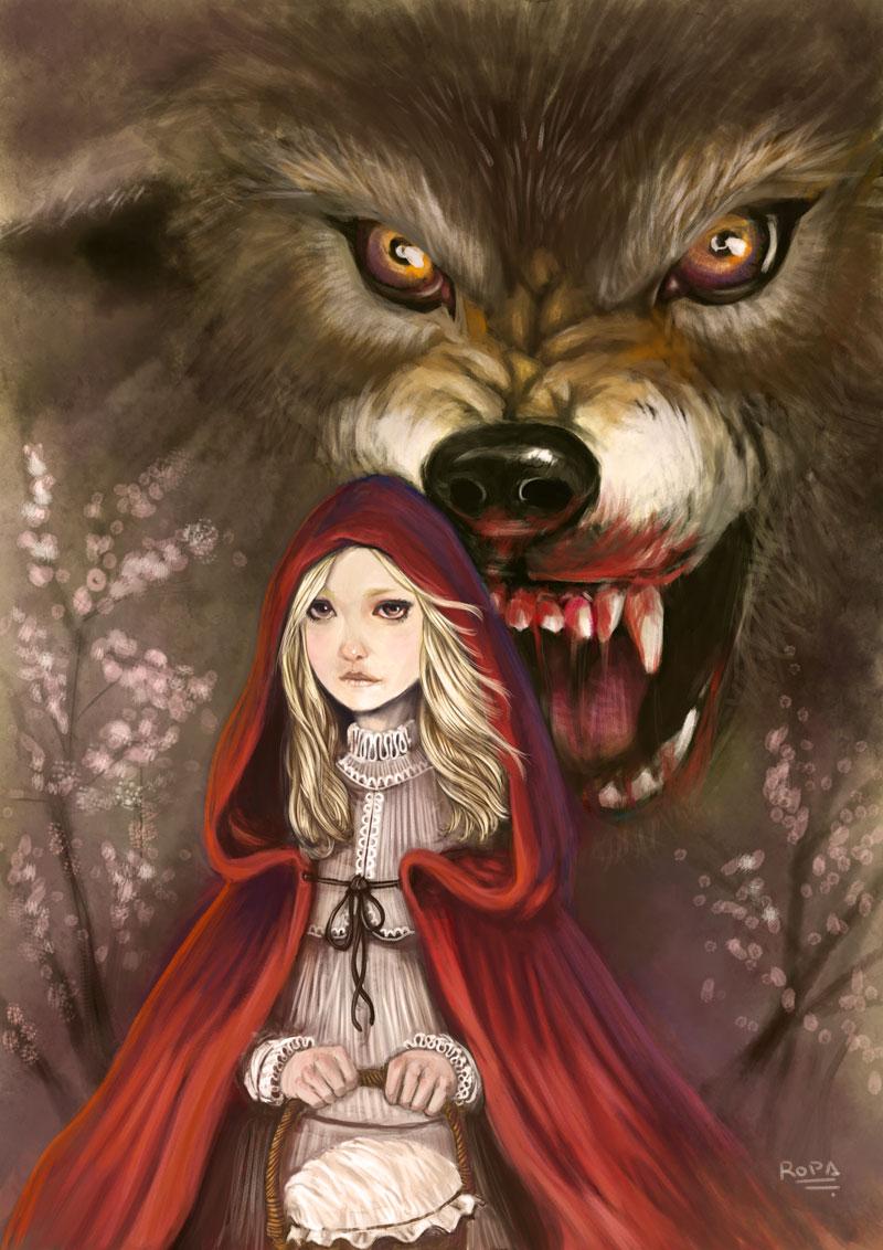 Resultado de imagen para imagenes caperucita y el lobo