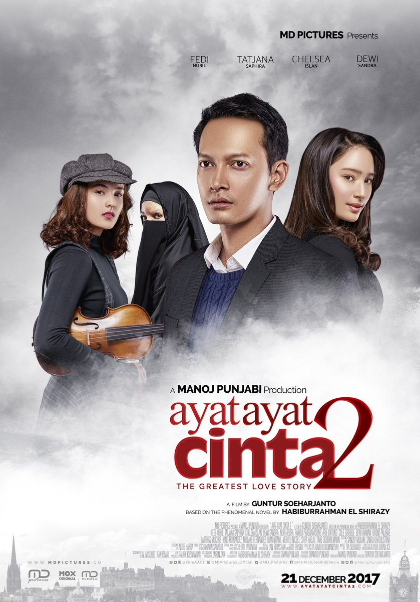 Movie Review Ayat Ayat Cinta 2  Hope Dream and Reality