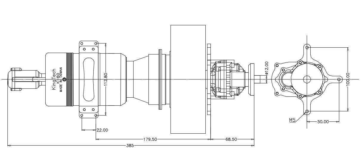 KingTech K-60TP turbine-K-60TP