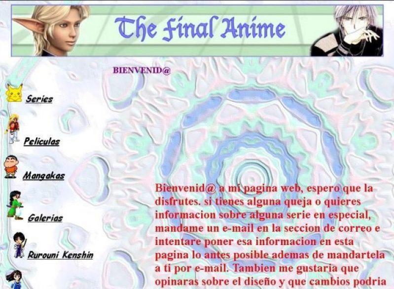 Historia de The Final Anime