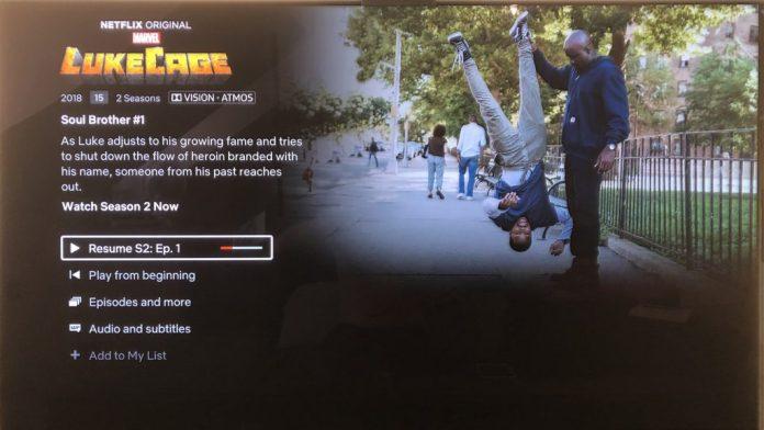 Netflix HDR/Dolby Vision