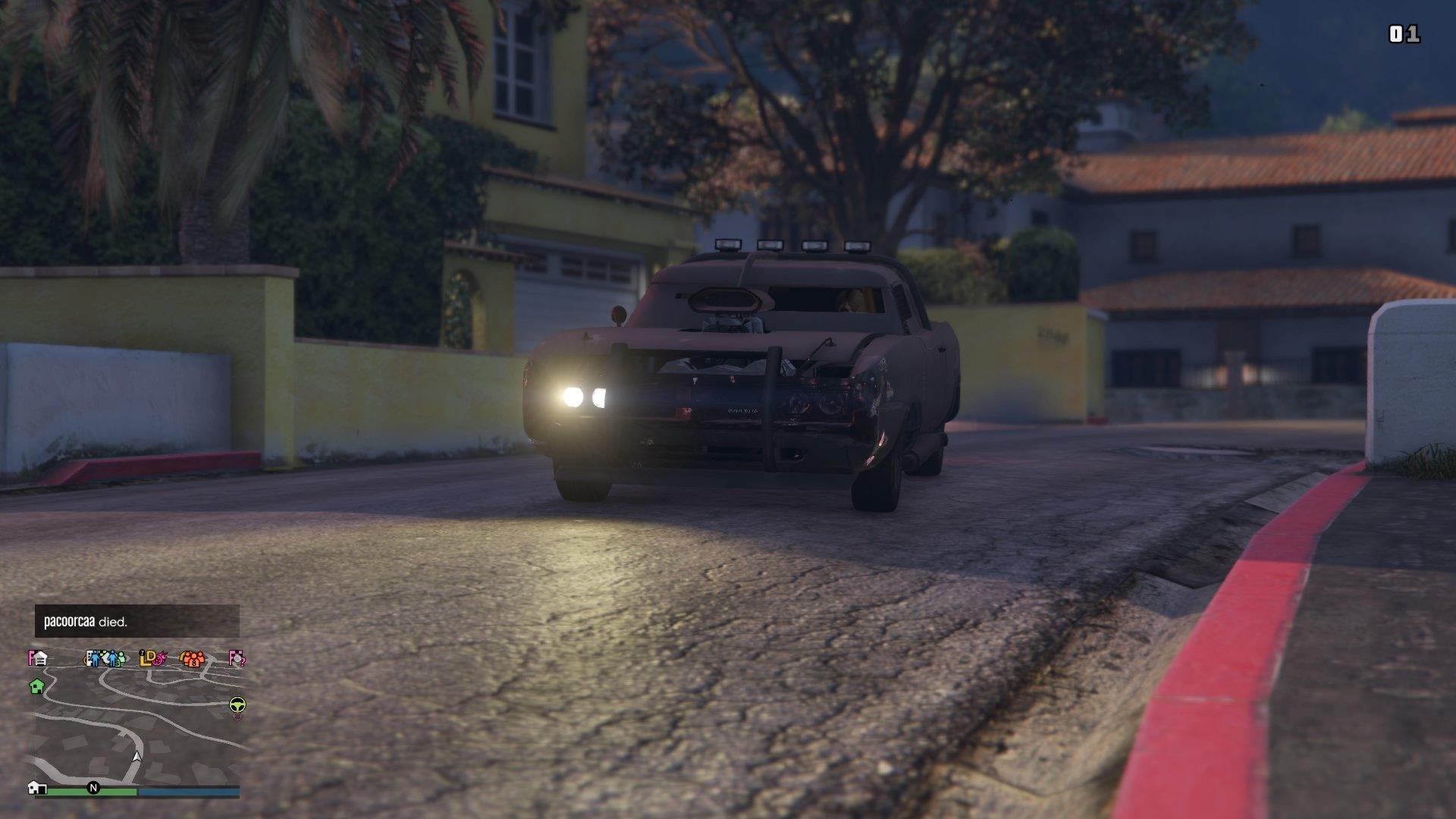 Grand Theft Auto Online Duke o Death