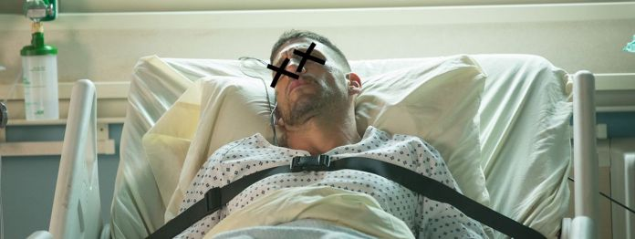Punisher in hospital