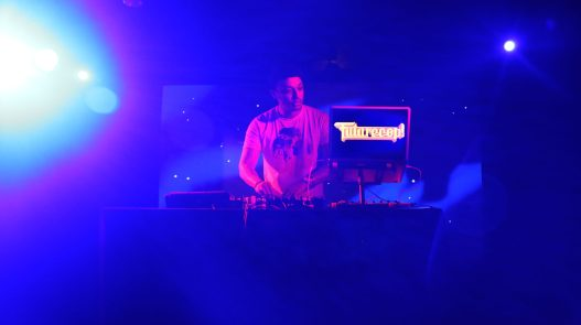 Futurecop playing live