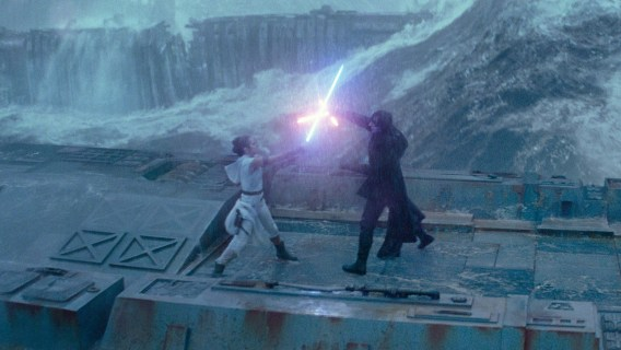 Best Lightsaber Battles: Kylo Ren v Rey, The Rise Of Skywalker