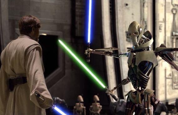 Best Lightsaber Battles: Grievous v Obi-Wan