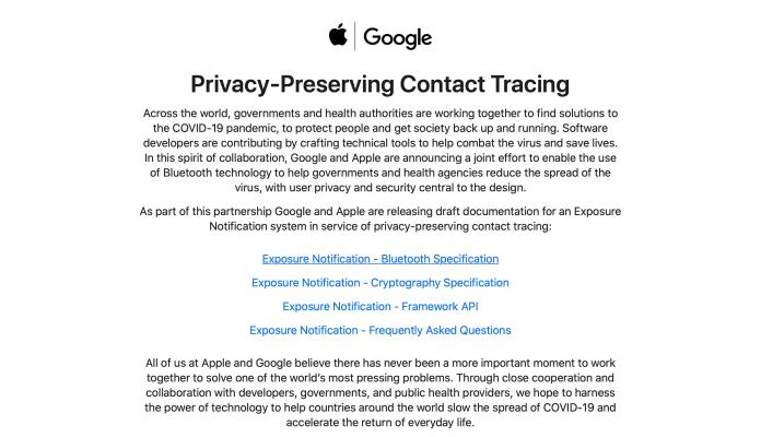 Apple Google Release