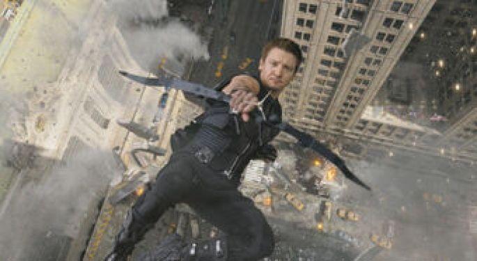 Jeremy Renner as Marvel's Hawkeye