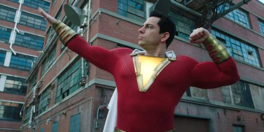 Upcoming DC superhero movie character Shazam