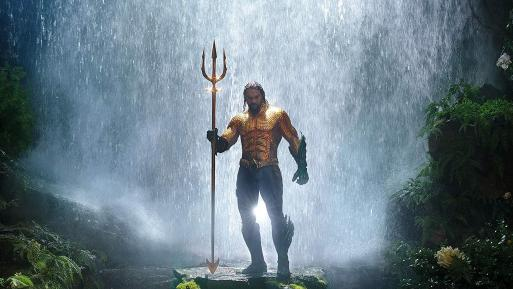 Upcoming DC superhero movie character Aquaman