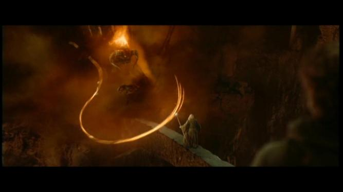 Best Lord of the Rings Fights: Gandalf vs Balrog