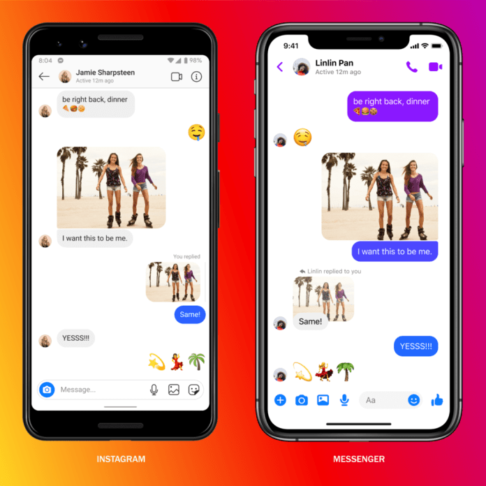 Facebook Messenger cross-platform