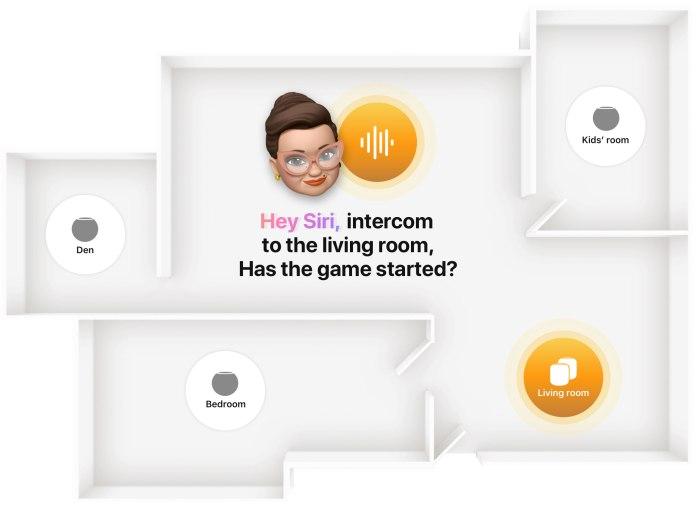HomePod Mini' intercom feature