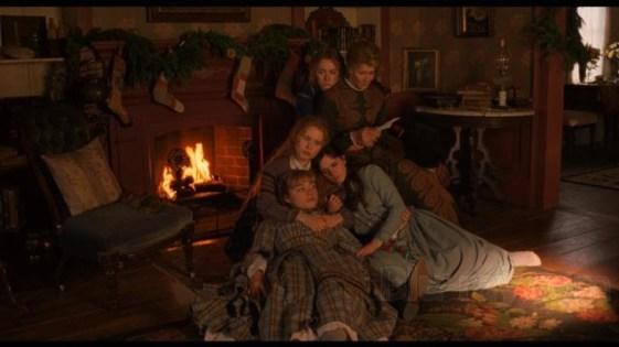 The March family in Little Women