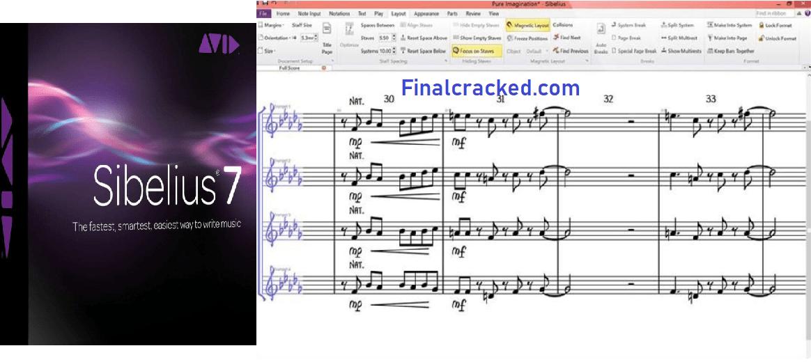 Sibelius Crack Free Download