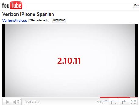 fecha en español