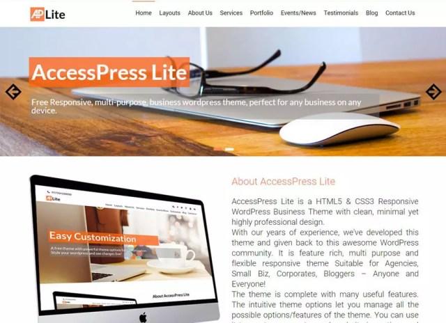 wordpress template free
