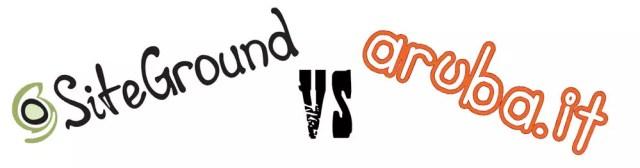 Differenze tra aruba e siteground
