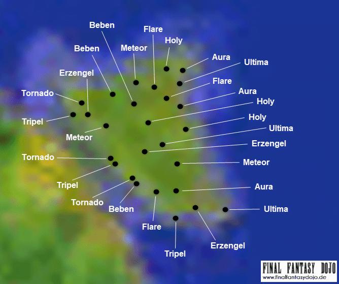 FFVIII Weltkarte Final Fantasy Dojo