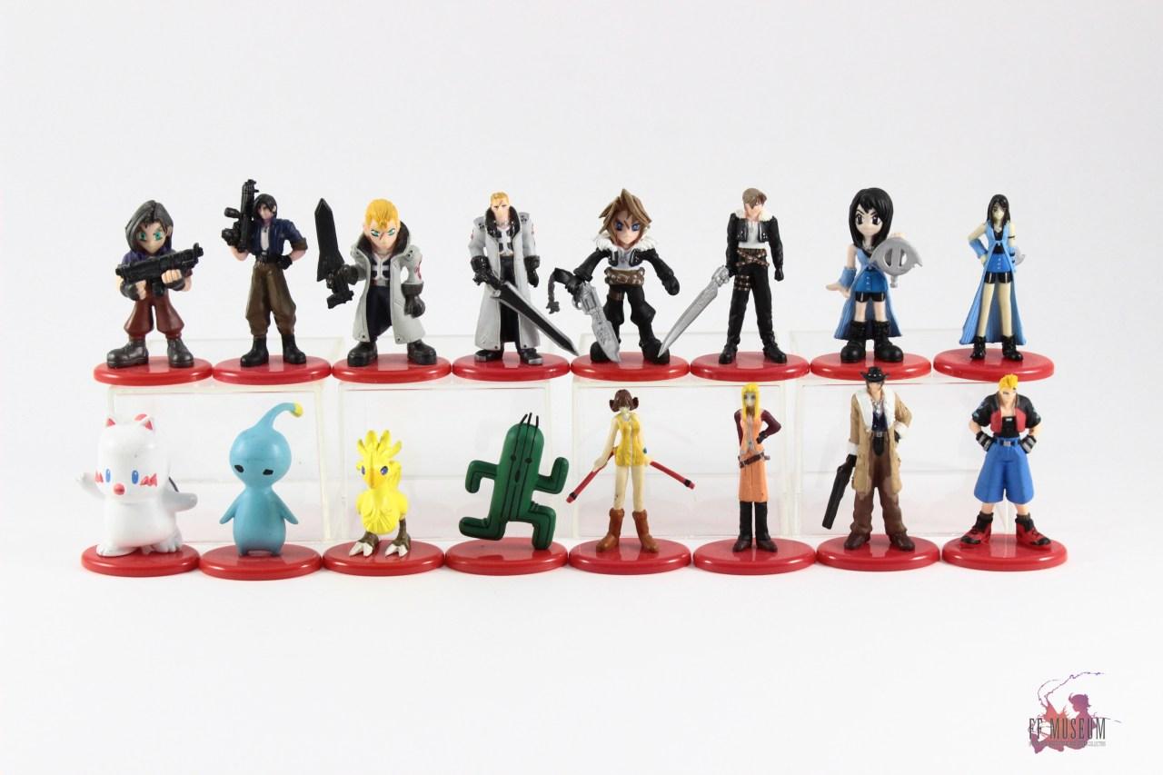 Final Fantasy VIII Coca Cola Figures FF MUSEUM