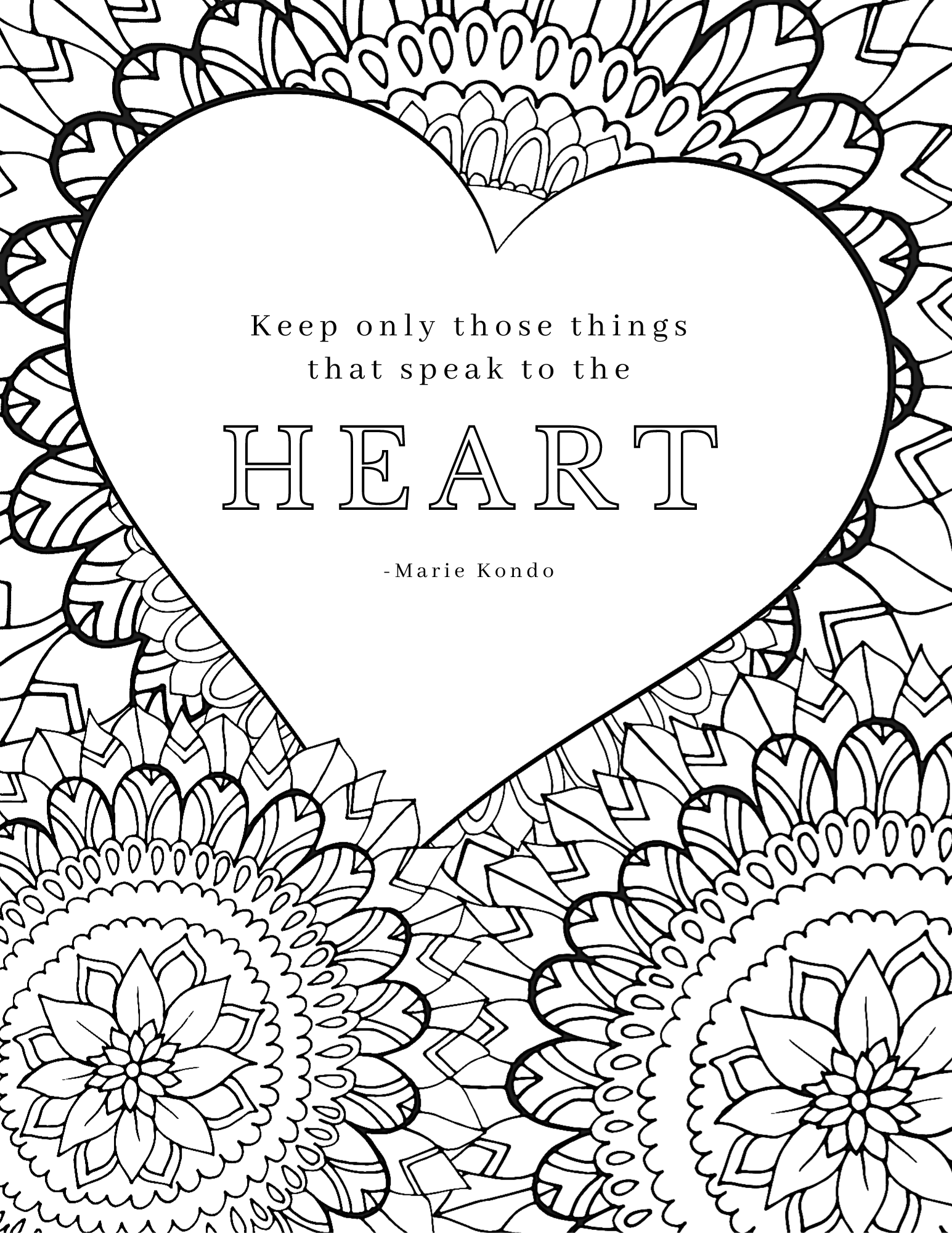 Inspirational Coloring Pages Pdf : inspirational, coloring, pages, Inspirational, Quote, Coloring, Pages, Adults