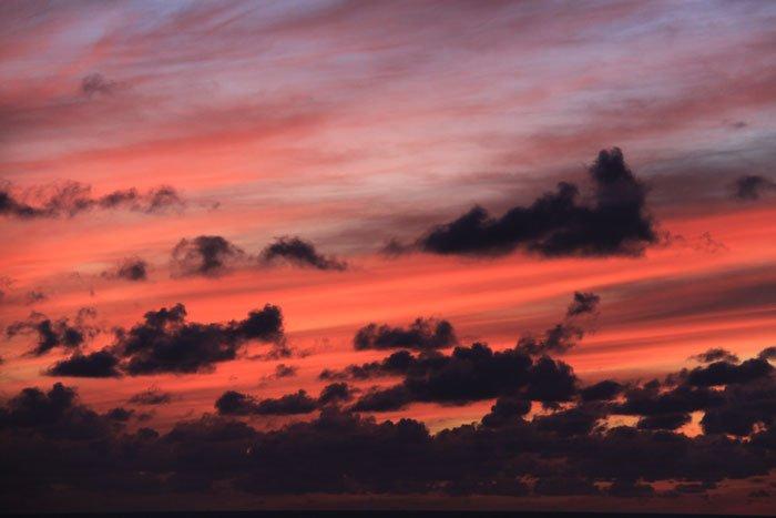 Solnedgångarna från Balkongen!