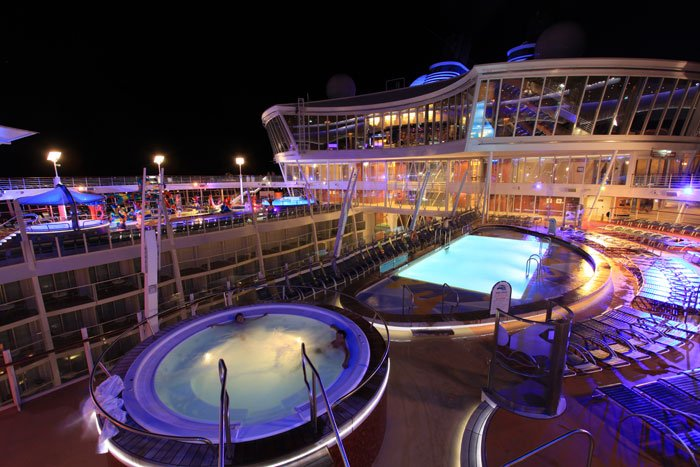 Svar om Allure Of The Seas!