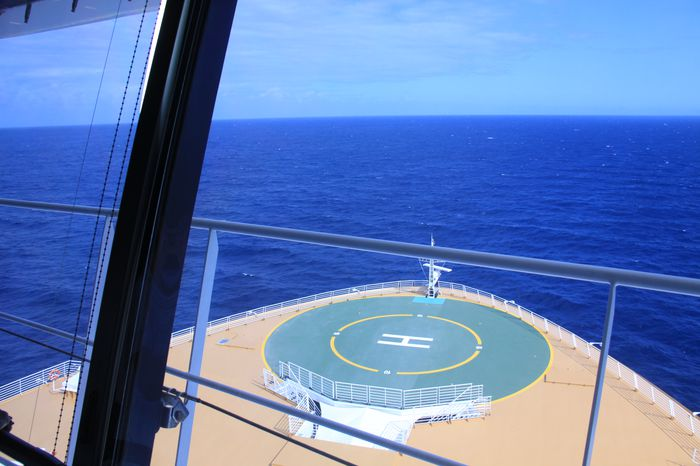 Kommandobryggan På Allure Of The Seas!
