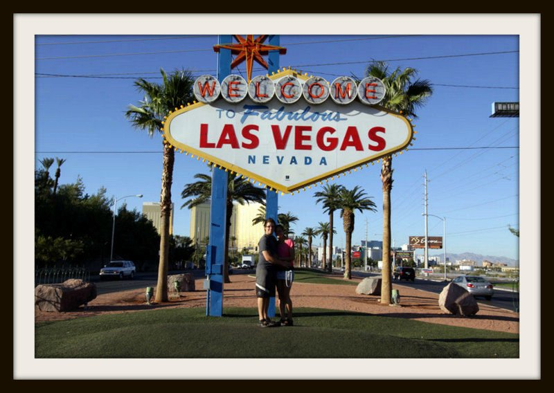 Besök Las Vegas Skylten!