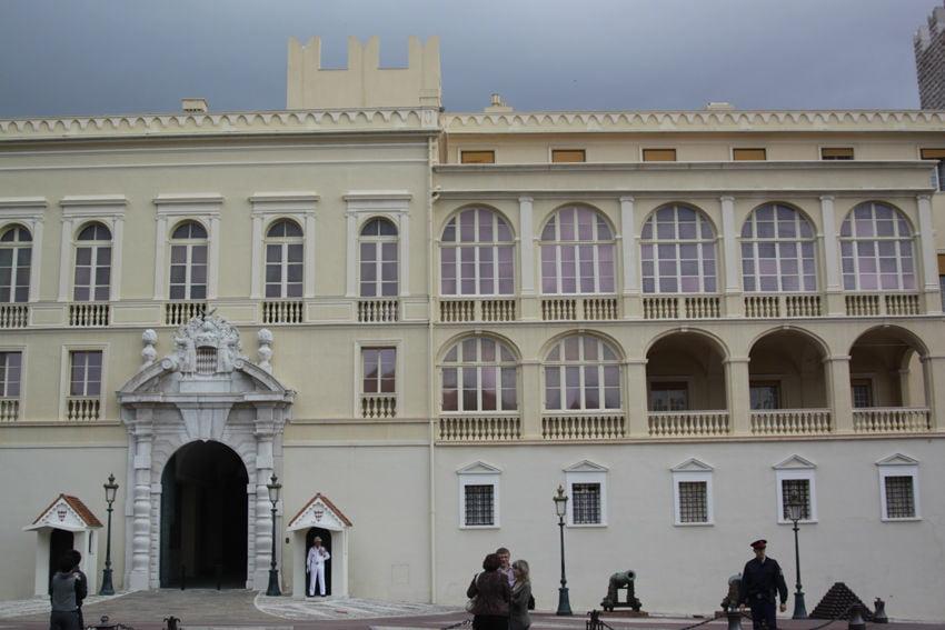 Prinspalatset I Monaco